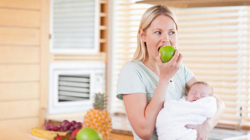 food for nursing mothers